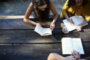 Mindfulness students, exam stress, meditation students,